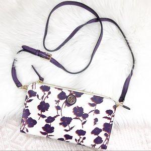 Tory Burch Kerrington Floral Wallet Crossbody Bag